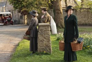downton abbey S2 Mrs. hughs taking food to Ethel and the baby.jpg