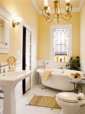 Stylish home: Bathrooms - Luscious: myLusciousLife.