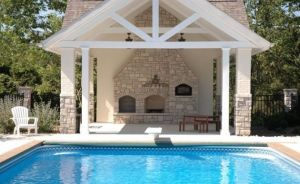 Pictures of pool houses - stylish pool-house via myLusciousLife.com.jpg