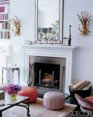 Candace Bushnell and Charles Askegard - Elle Decor - photos by William Waldron.jpg