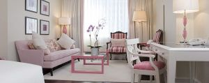 Sarah Richardson - pink Park Hyatt Breast Cancer Hotel Room Toronto - pink room.jpg