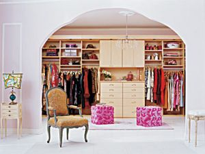 photos of pink furniture - myLusciousLife.com - Walk-in wardrobe.jpg