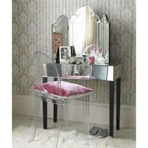 pink decor - myLusciousLife.com - Constance Mirrored Dressing Table.jpg
