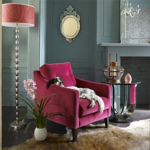 pink decor - myLusciousLife.com - Jamie Dream Velvet Armchair and deco table.jpg
