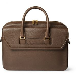 Alexander McQueen Full-Grain Leather Holdall Bag.jpg