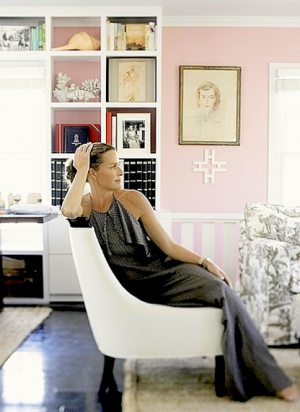 At home with India Hicks and her mother at The Grove in England