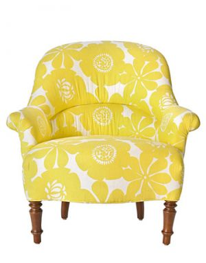 Floral fancy - www.myLusciousLife.com -yellow-chair.jpg