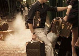 Vintage luggage - mylusciouslife.com - louis vuitton luggage1.jpg