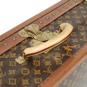 Vintage luggage - mylusciouslife.com - louis-vuitton-large-monogram-hard-bisten-travel-suitcase.jpg