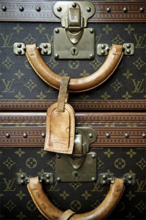 Vintage luggage - mylusciouslife.com - luscious louis vuitton luggage.jpg