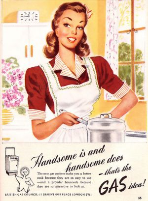 Enjoy being in the kitchen - myLusciousLife.com - 1947--babes cook with gas.jpg