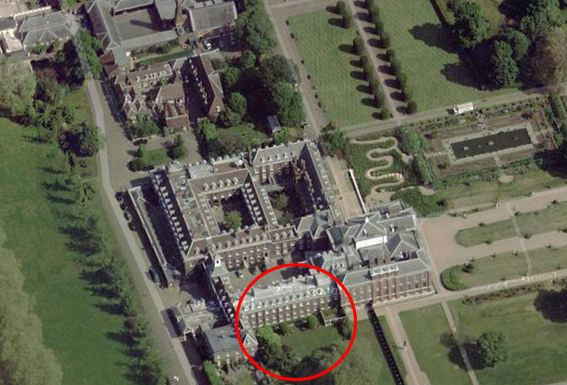 Kate And William S New Kensington Palace London Home
