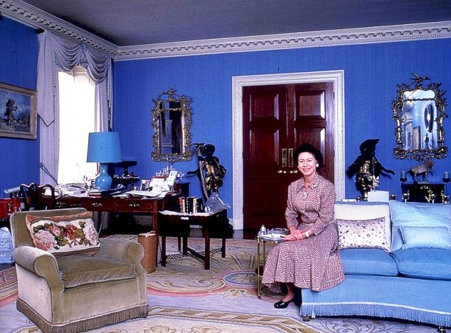 Princess Margaret In Apartment 1a At Kensington Palace