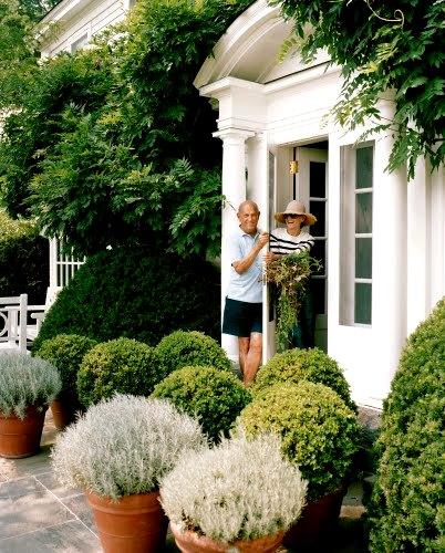 Designers At Home Oscar De La A December 2008 Issue Of Vogue