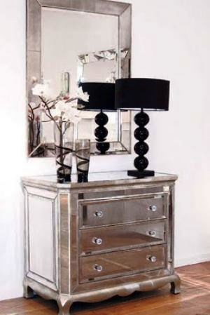 Popular On Pinterest Mirrored Furniture Drawers
